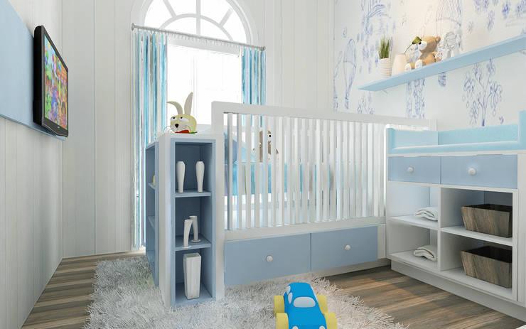 Rumah Tinggal Greenlake:  Kamar Bayi & Anak by Elora Desain