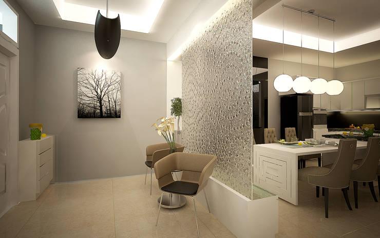 Rumah Tinggal Greenlake: Koridor dan lorong oleh Elora Desain, Modern