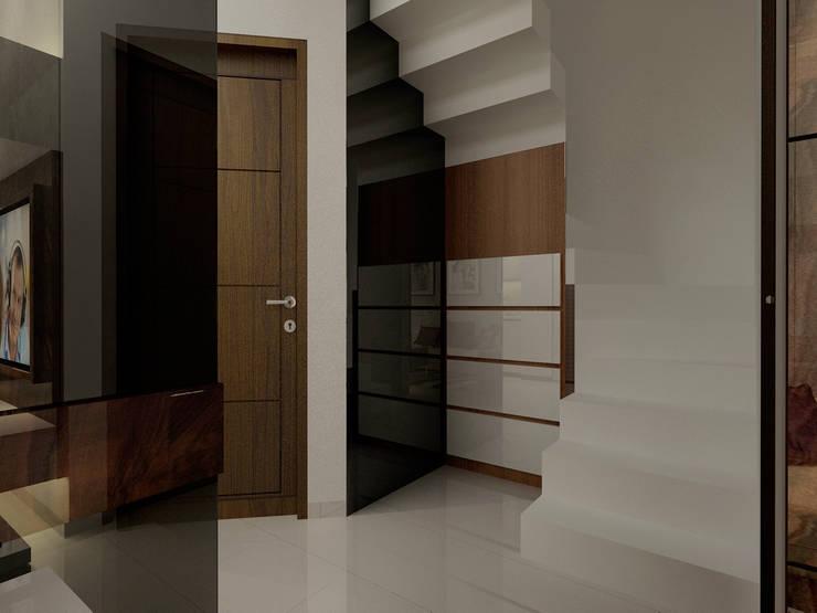 Sunter Resident Mr. Donny :  Koridor dan lorong by Elora Desain