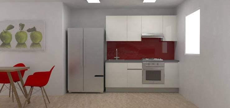 Cocina Modular: Cocina de estilo  por Spazio Diseño y Decoración