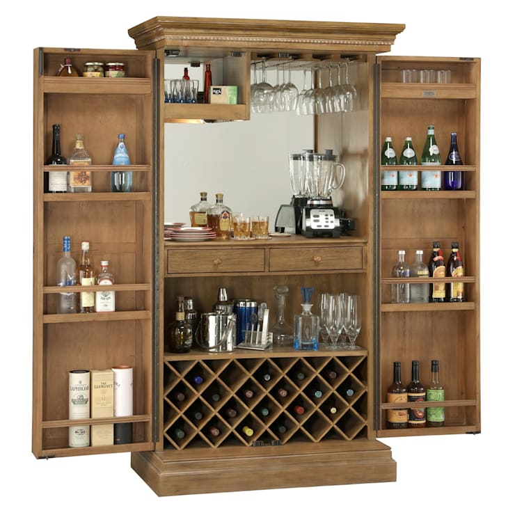 5 Major Benefits and Advantages of Having Home and Wine Bars:  Wine cellar by Perfect Home Bars