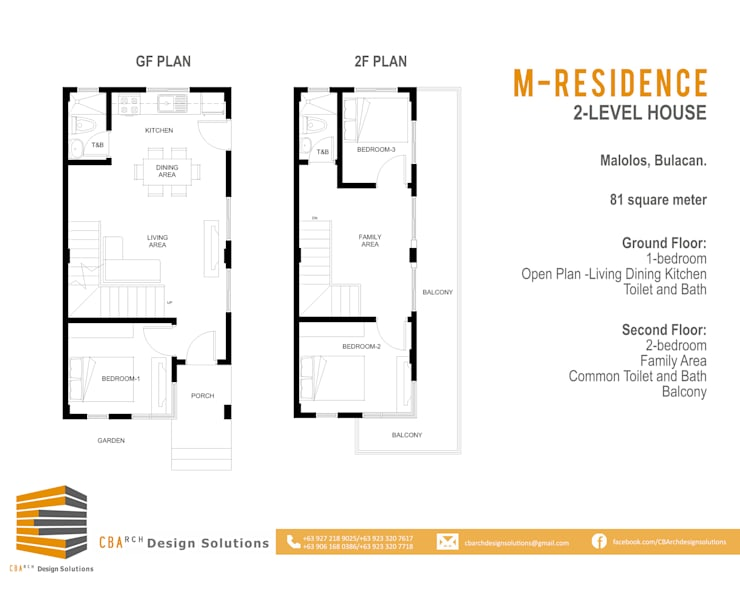 House Layout:   by CB.Arch Design Solutions