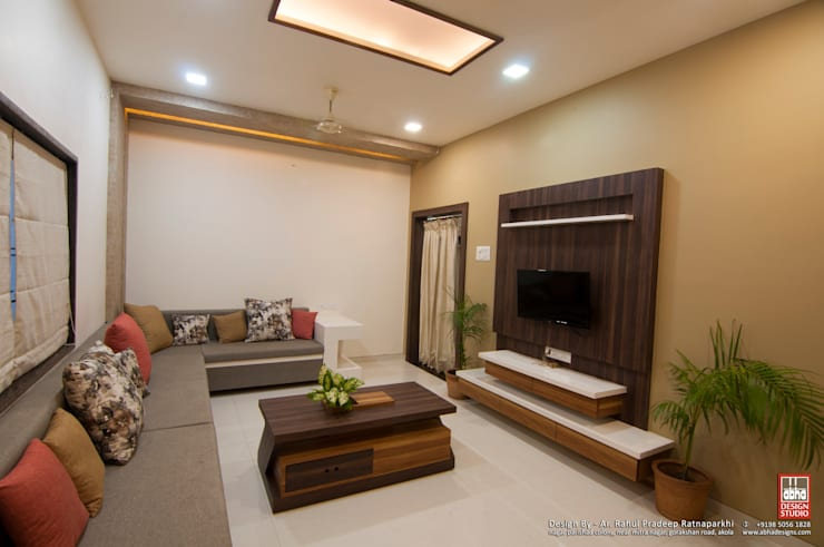 Interior of Residence for Mr. Chandrashekhar R: minimalist  by ABHA Design Studio,Minimalist