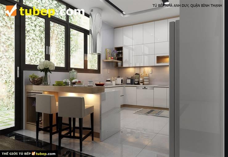 Tu Bep:  Tủ bếp by Thế Giới Tủ Bếp