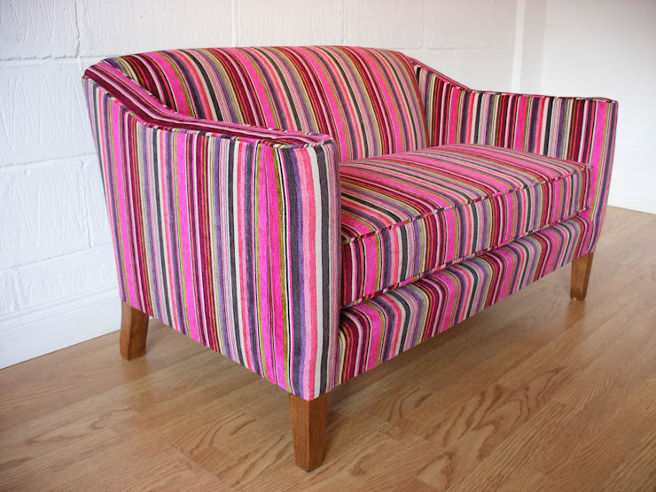 Soho Sofa de Standrin Moderno Madera maciza Multicolor
