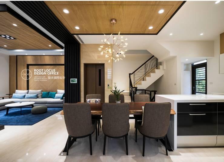 竹韻:  餐廳 by 築本國際設計有限公司