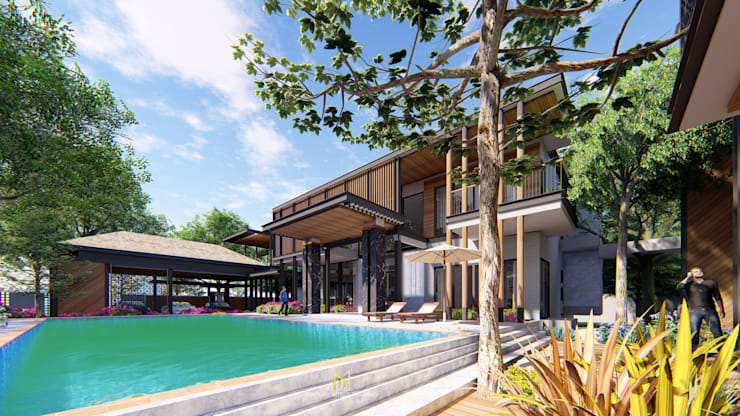 PROJECT: KAI HOUSE :  บ้านเดี่ยว by GRID ARCHITECT THAILAND