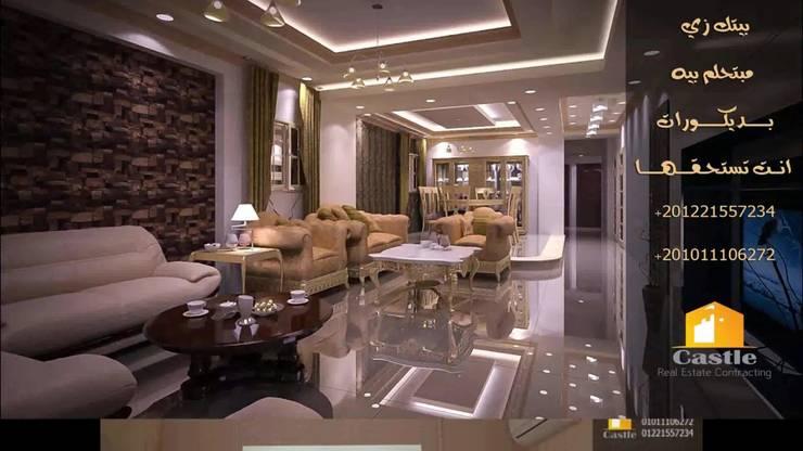 Corridor, hallway & stairs تنفيذ كاسل للإستشارات الهندسية وأعمال الديكور في القاهرة