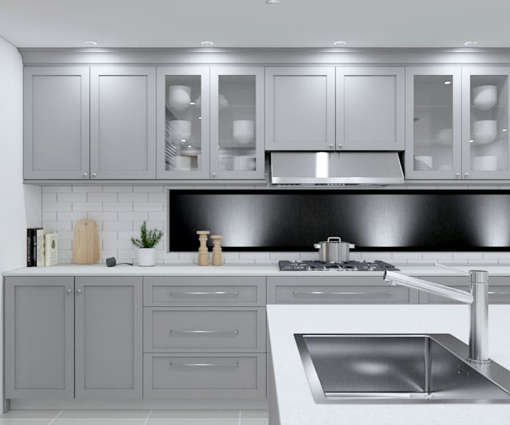 Built-in kitchens by Linken Designs ,