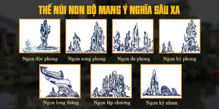 Ý nghĩa của các ngọn giả sơn:   by Công Ty Thi Công Và Thiết Kế Tiểu Cảnh Non Bộ