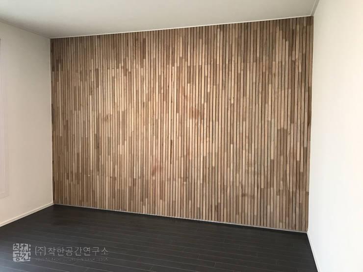 오금동 신혼집: 주식회사 착한공간연구소의  방,모던