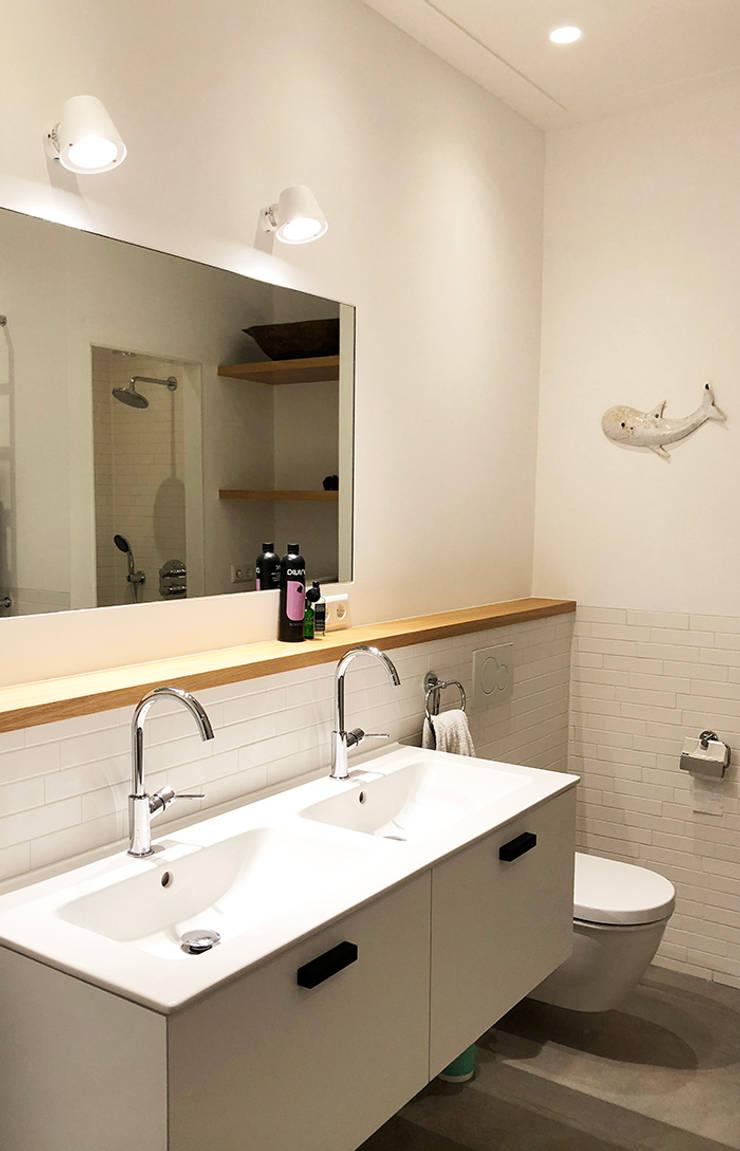 Badkamer Amsterdam:  Badkamer door Puurbouwen