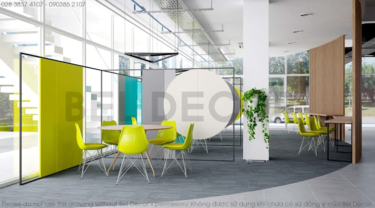 OF1705 MODERN CO-WORKING/ BEL DECOR:   by Bel Decor