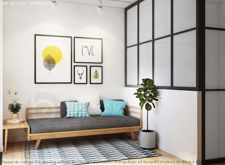 HO1820 MODERN SHOP HOUSE/ BEL DECOR:   by Bel Decor