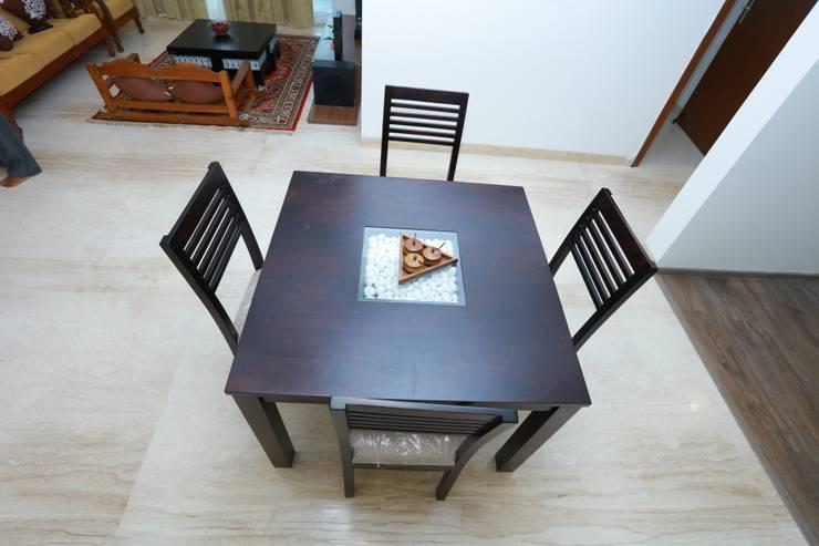 Dining Room—Origami Spaces(Origamispaces.com):  Dining room by Origami Space Design