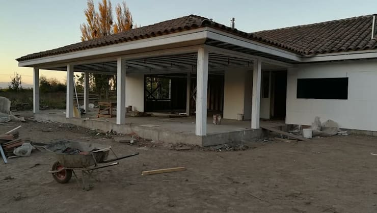 terraza: Casas de estilo  por ATELIER3