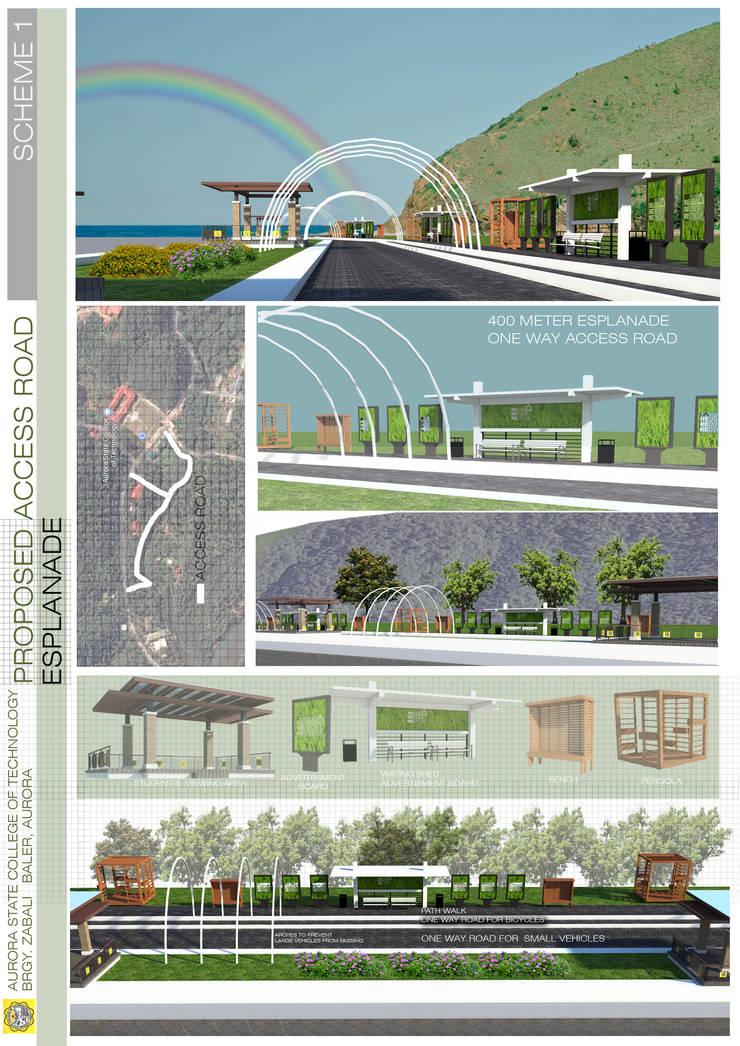 Esplanade:  Garden by Sindac Architectural Design and Consultancy