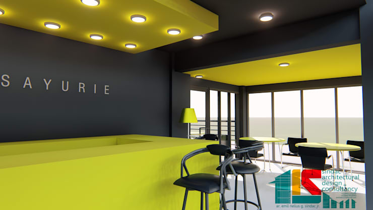 Lifestyle store:   by Sindac Architectural Design and Consultancy
