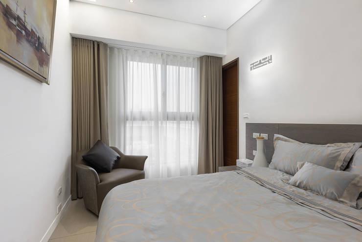 節理:  臥室 by 寬宸室內設計有限公司