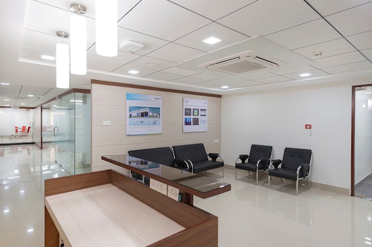 Waiting Hall:  Office spaces & stores  by Elcon Infrastructure