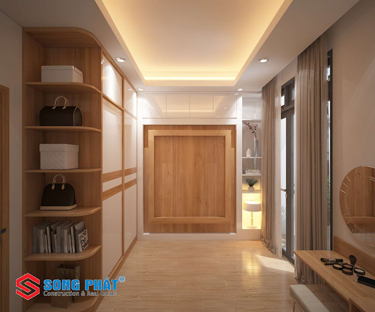 Single family home by Công ty Thiết Kế Xây Dựng Song Phát, Modern