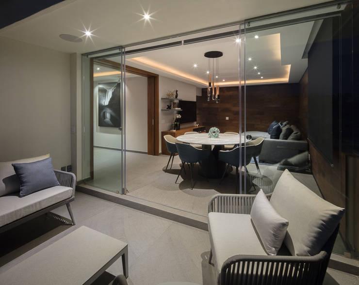 Casa CL: Terrazas de estilo  por Concepto Taller de Arquitectura
