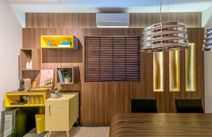 Sala Comercial: Escritórios  por Erlon Tessari Arquitetura e Design de Interiores