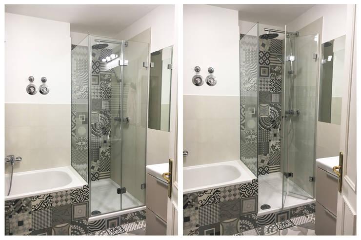 Duschabtrennung: moderne Badezimmer von KHG Raumdesign