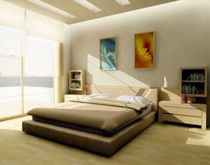 Residence of Dr. JHA: modern Bedroom by EVEN SIGHTS ARCHITECTS