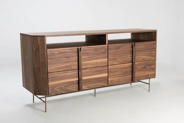 Credenzas Modernas De Madera : Muebles de madera modernos y llenos estilo en jalisco