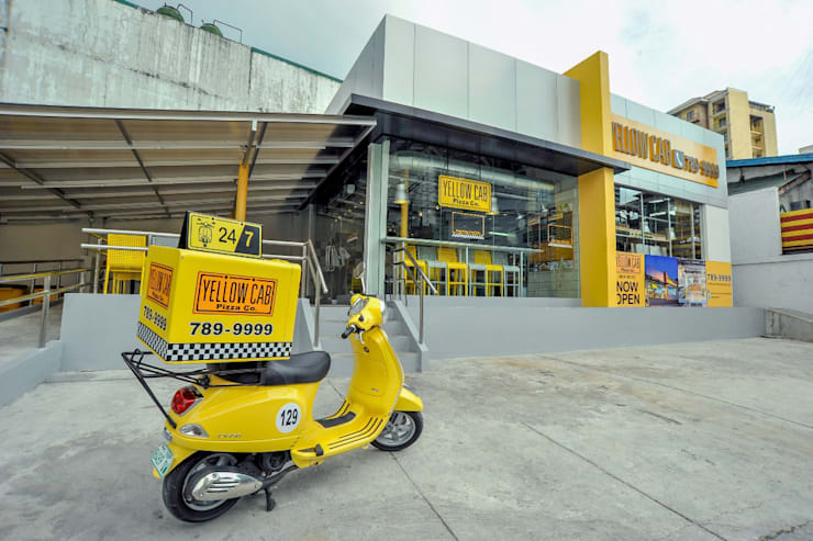 Yellow Cab Makati Avenue:  Commercial Spaces by Cham - Candelaria Inc.