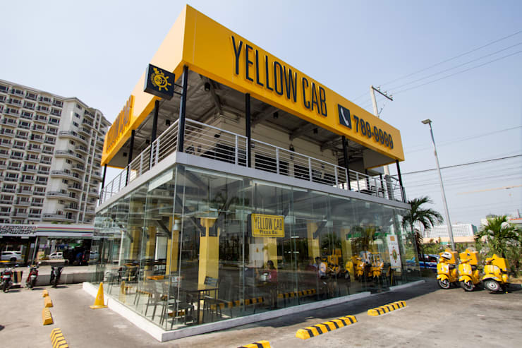 Yellow Cab Macapagal Avenue:  Commercial Spaces by Cham - Candelaria Inc.