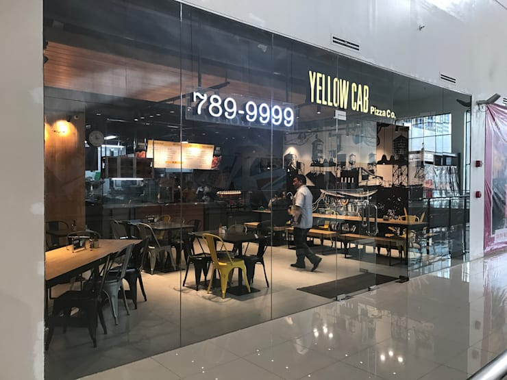 Yellow Cab Ayala Malls The 30th, Meralco Avenue:  Commercial Spaces by Cham - Candelaria Inc.