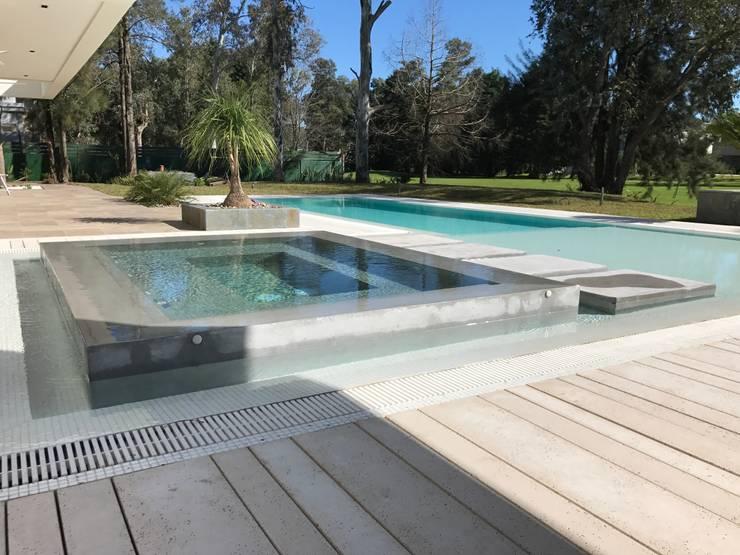 Infinity pool by Surpool - Diseño de Espacios de Agua, Modern