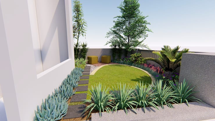 Front yard by 1mm studio | Landscape Design