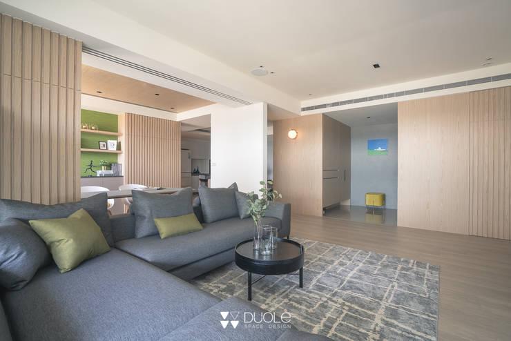 Project | C宅:  客廳 by DUOLE 掇樂設計