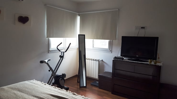 DORMITORIO PRINCIPAL: Dormitorios de estilo  por INTEGRA ESTUDIO,