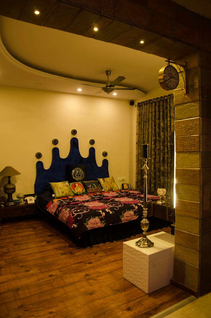 Kandivli Project:  Bedroom by aasha interiors,Modern