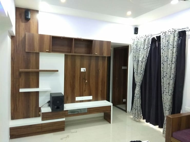 Project:  Dressing room by Vasuweta Interior Space