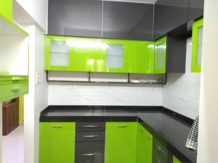 Project: modern Kitchen by Vasuweta Interior Space