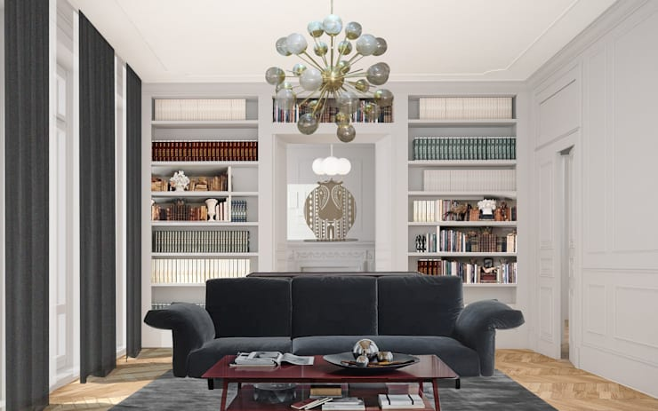 Living room by architetto stefano ghiretti, Classic