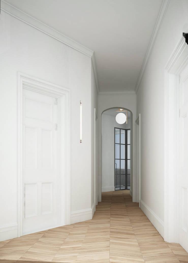 Corridor and hallway by architetto stefano ghiretti, Classic