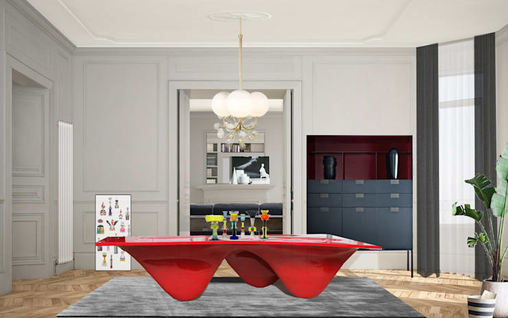 Dining room by architetto stefano ghiretti, Classic