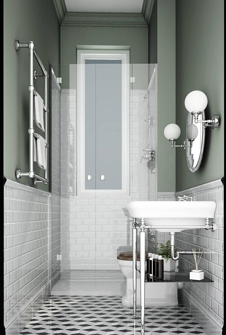 Bathroom by architetto stefano ghiretti, Classic