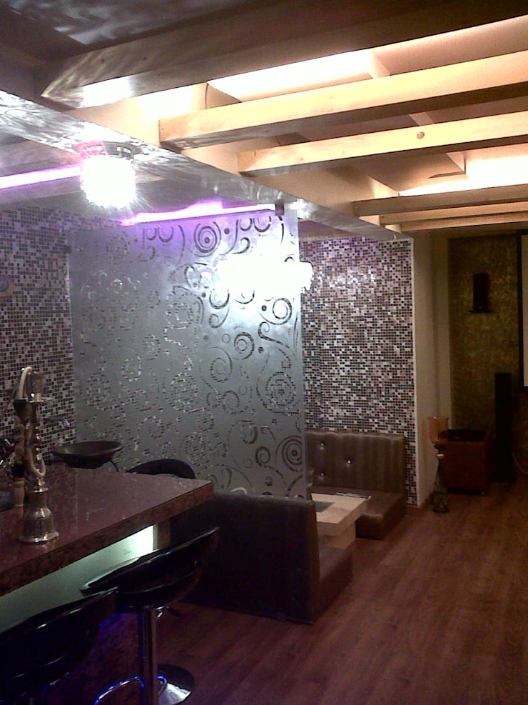 Manpada Thane:  Office buildings by aasha interiors,Modern