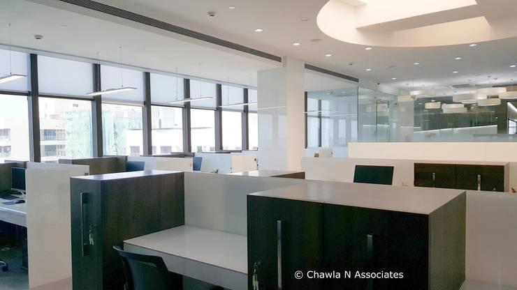 Project:  Office buildings by Chawla N Associates