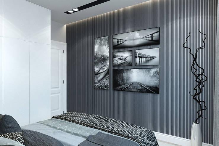 Dormitorios de estilo minimalista de Гузалия Шамсутдинова | KUB STUDIO Minimalista