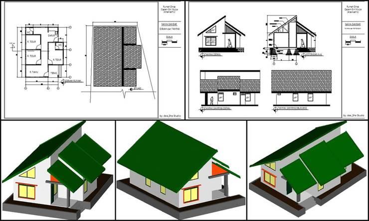 Rumah Dinas :   by deeshestudio