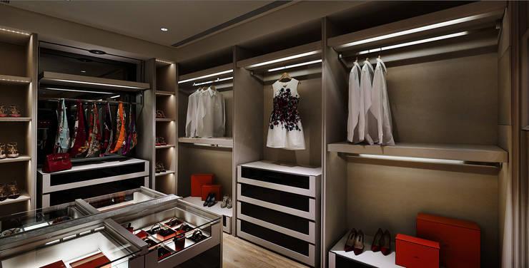 Closets de estilo  por 鈞亨國際設計有限公司