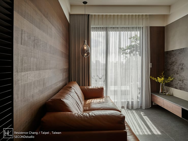 客廳 / Living room:  客廳 by SECONDstudio